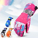 cheap Ski Wear-Winter Gloves Men's Women's Snowsports Full Finger Gloves Winter Waterproof Windproof Breathable PU(Polyurethane) Skiing Snowsports Snowboarding