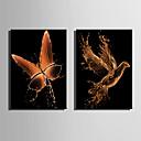זול הדפסים-דפוס הדפסי בד מגולגל / הדפסי בד מתוחים - מופשט / חיות מודרני