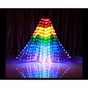 baratos Câmeras de Rede IP de Interior-Acessórios de Dança Asas de Ísis Mulheres Espetáculo Poliéster LED