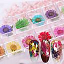 billige øremærkninger værktøjer-12 pcs decals Multifunktionel / Bedste kvalitet Blomst Negle kunst Manicure Pedicure Daglig / Festival Romantik / Mode