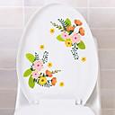 levne Samolepky na zeď-Samolepky na toaletu - Samolepky na stěnu Květinový / Botanický motiv Obývací pokoj / Ložnice / Koupelna