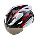 povoljno Osobna zaštita-Odrasli Bike kaciga 16 Ventilacijski otvori Integralno oblikovana Light Weight ESP + PC PC Sportski Biciklizam / Bicikl Bicikl Motociklizam - Crn Red / White Zelen Muškarci Žene Uniseks
