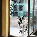 abordables Pelucas para Disfraz-Ventana de película y pegatinas Decoración Tejido Oriental Estampado CLORURO DE POLIVINILO Adhesivo para Ventana