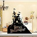voordelige Gereedschap & Accessoires-Glasfolie en stickers Decoratie Halloween Vakantie PVC Raamsticker