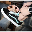 cheap Headsets & Headphones-Men's Comfort Shoes Suede Spring &  Fall Casual Sneakers Black and White / Pink / White / Light Green