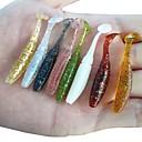 cheap Fishing Lures & Flies-12 pcs Soft Bait Soft Bait Soft Plastic Sea Fishing / Bait Casting / Freshwater Fishing / Carp Fishing / Bass Fishing / Lure Fishing / General Fishing