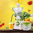 billige Frukt & Grønnsaks-verktøy-kjøkken Verktøy ABS Økovennlig / Kreativ Kjøkken Gadget Manuell Saftpresse for Frukt / for Vegetabilsk / For kjøkkenutstyr 1pc