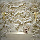 cheap Wallpaper-Wallpaper / Mural Canvas Wall Covering - Adhesive required Solid Colored / Art Deco / 3D