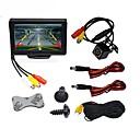 Недорогие DVD плееры для авто-BYNCG WG4.3T-4LED 4.3 дюймовый TFT-LCD 480TVL 480p 1/4 дюйма, цветная КМОП Проводное 120° 1 pcs 120 ° 4.3 дюймовый