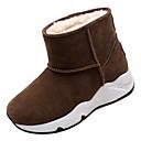 baratos Sapatos de Salto-Mulheres Botas de Neve Couro Ecológico Outono Minimalismo Botas Sem Salto Ponta Redonda Botas Cano Médio Cinzento / Marron / Verde