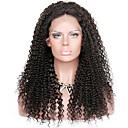 olcso Emberi hajból készült parókák-Remy haj 360 Frontális Paróka Brazil haj Kinky Curly Fekete Paróka Mély elválás 150% Haj denzitás Hot eladó Vastag Fekete Női Hosszú Emberi hajból készült parókák Premierwigs