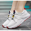 cheap Women's Athletic Shoes-Women's Comfort Shoes Mesh Spring &  Fall Athletic Shoes Running Shoes Flat Heel White / Black / Pink