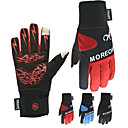 cheap Cycling Jersey & Shorts / Pants Sets-Sports Gloves Winter Gloves Ski Gloves Men's Women's Snowsports Full Finger Gloves Winter Waterproof Windproof Breathable Nylon Spinning Cotton Silica Gel Skiing Snowsports Snowboarding