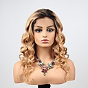 povoljno Perike s ljudskom kosom-Remy kosa Full Lace Lace Front Perika Asimetrična frizura Wendy stil Brazilska kosa Tijelo Wave Valovita kosa Perika 130% 150% 180% Gustoća kose s dječjom kosom Nježno Žene Jednostavan dressing