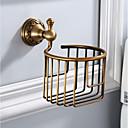 billige Toalettrullholdere-Toalettrullholder Nytt Design / Multifunktion Antikk Aluminium 1pc - Baderom / Hotell bad Vægmonteret