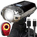 cheap Cycling Jackets-Front Bike Light LED Bike Light Cycling Waterproof, Portable, Easy Carrying Rechargeable Battery 1000 lm Rechargeable Power Daylight Cycling / Bike - HJ