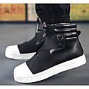 cheap Men's Boots-Men's Comfort Shoes Microfiber Fall & Winter Boots Mid-Calf Boots White / Black / Red