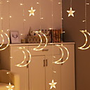 baratos Botas Masculinas-3M Cordões de Luzes 20 LEDs Branco Quente Decorativa 220-240 V 1conjunto