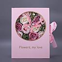 זול פרח מלאכותי-פרחים מלאכותיים 1 ענף קלאסי / יחיד מסוגנן / מודרני ורדים פרחים לשולחן