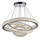 cheap Pendant Lights-Circular Chandelier Downlight Electroplated Metal Crystal, LED 110-120V / 220-240V Warm White / Cold White LED Light Source Included / LED Integrated