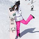 رخيصةأون ملابس التزلج-ARCTIC QUEEN نسائي جاكيت وبنطلون للتزلج ضد الهواء, دافئ, نظارات التزلج التزلج / التخييم والتنزه / التزلج على الجليد بولي, صديقة للبيئة بوليستر بنطلون / الثلوج مريلة السراويل / قمم ملابس التزلج