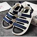 abordables Sandalias de Hombre-Hombre Zapatos Confort Vaquero Verano Sandalias Negro / Verde Ejército / Azul
