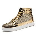 cheap Men's Sneakers-Men's Novelty Shoes Synthetics Fall Sporty / Preppy Sneakers Keep Warm Gold / Black / Silver