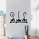 billige Veggklistremerker-Dekorative Mur Klistermærker - Animal Wall Stickers Dyr Spisestue / Barnerom