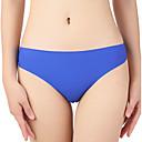 cheap Panties-Women's Normal Sexy G-strings & Thongs Panties - Basic, Solid Colored Low Waist Blue Green Blushing Pink L XL XXL