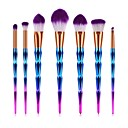 cheap Makeup Brush Sets-7 pcs Makeup Brushes Professional Blush Brush / Eyeshadow Brush / Lip Brush Nylon fiber Full Coverage