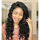 cheap Human Hair Wigs-Remy Human Hair Unprocessed Human Hair Lace Front Wig Brazilian Hair Wavy Loose Curl Wig 130% Density with Baby Hair Natural Hairline African American Wig For Black Women Bleached Knots Natural