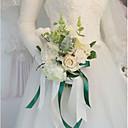 hesapli Düğün Çiçekleri-Düğün Çiçekleri Buketler Düğün / Düğün Partisi İpek / Kumaşlar 11-20 cm