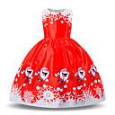 זול שמלות לבנות-בנות פעיל / מתוק מכנסיים - קולור בלוק / אנימציה פפיון / קפלים אודם 110 / מעל הברך / חגים / פעוטות