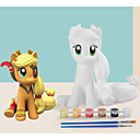 preiswerte Zeichnung Spielzeug-Mal-Spielzeug Tier-Actionfiguren Pferd Einhorn Regenbogen Tiere Weicher Kunststoff Silikon Kinder Alles Spielzeuge Geschenk 1 pcs