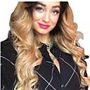 billige Blondeparykker af menneskehår-Remy Menneskehår Helblonde Blonde Front Paryk Assymetrisk frisure Beyonce stil Brasiliansk hår Krop Bølge Naturligt, bølget hår Gyldent Paryk 130% 150% 180% Hår Densitet Blød Dame Nem dressing Bedste