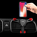 cheap Steering Wheel Covers-Car Mount Stand Holder Air Outlet Grille Buckle Type / Gravity Type / Adjustable Metal Holder
