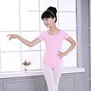 cheap Dance Accessories-Ballet Leotards Women's / Girls' Training / Performance Elastane / Lycra Gore Short Sleeve Leotard / Onesie