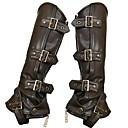 hesapli Korseler-Cosplay Steampunk Kostüm Kadın's Botlar Siyah Eski Tip Cosplay Deri