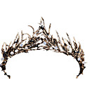 cheap Movie & TV Theme Costumes-Black Swan Vintage Elegant Costume Women's Crown Masquerade Tiaras White / Golden Vintage Cosplay Chrome