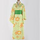 povoljno Anime kostimi-Inspirirana Ljubav uživo Cosplay Anime Cosplay nošnje Japanski Cosplay Suits / Kimono Uzorak Struk Pribor / Kimono Dlaka Za Muškarci / Žene