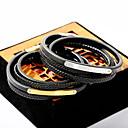 cheap Men's Bracelets-Men's Wrap Bracelet Leather Bracelet - Leather Fashion Bracelet Gold / Silver For Daily Going out