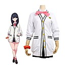 cheap Anime Costumes-Inspired by Cosplay Cosplay Anime Cosplay Costumes Cosplay Suits Other Long Sleeve Cravat / Other / Coat For Unisex