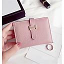 olcso Pénztárcák-női táskák nappa bőr pénztárca egyszínű rózsaszín / kék