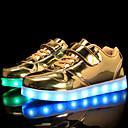 povoljno LED Cipele-Dječaci / Djevojčice Udobne cipele / Svjetleće tenisice PU Sneakers Dijete (9m-4ys) / Mala djeca (4-7s) / Velika djeca (7 godina +) Vezanje / Kopčanje na kukicu / LED Zlato / Srebro / Pink Jesen