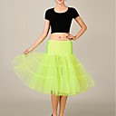 cheap Movie & TV Theme Costumes-Princess Mermaid and Trumpet Gown Slip Vintage Cosplay Lolita 1950s Costume Women's Dress Party Costume Tutu Under Skirt Green / Blue / Pink Vintage Cosplay