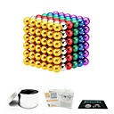 cheap Magnet Toys-216 pcs 5mm Magnet Toy Magnetic Balls Magnet Toy Super Strong Rare-Earth Magnets Magnetic Stress and Anxiety Relief Office Desk Toys Relieves ADD, ADHD, Anxiety, Autism Novelty Teenager / Adults' All