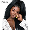 cheap Human Hair Wigs-Dolago Full Lace Wigs Brazilian Kinky Straight Lace Front Human Hair Wigs For Black Women 130% Density with Baby Hair African American Wig
