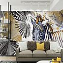 tanie Fresk-Tapeta / Mural Płótno Tapetowanie - klej wymagane Malarstwo / Art Deco / 3D