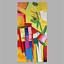 ieftine Ustensile Bucătărie & Gadget-uri-Hang-pictate pictură în ulei Pictat manual - Abstract Clasic Modern Fără a cadru interior / Canvas laminat