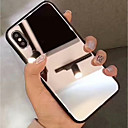 cheap iPhone Cases-Case For Apple iPhone XR XS XS Max Mirror Back Cover Solid Colored Hard Tempered Glass for iphone XS  X 8 8 Plus 7 7plus 6s 6s Plus SE 5 5S